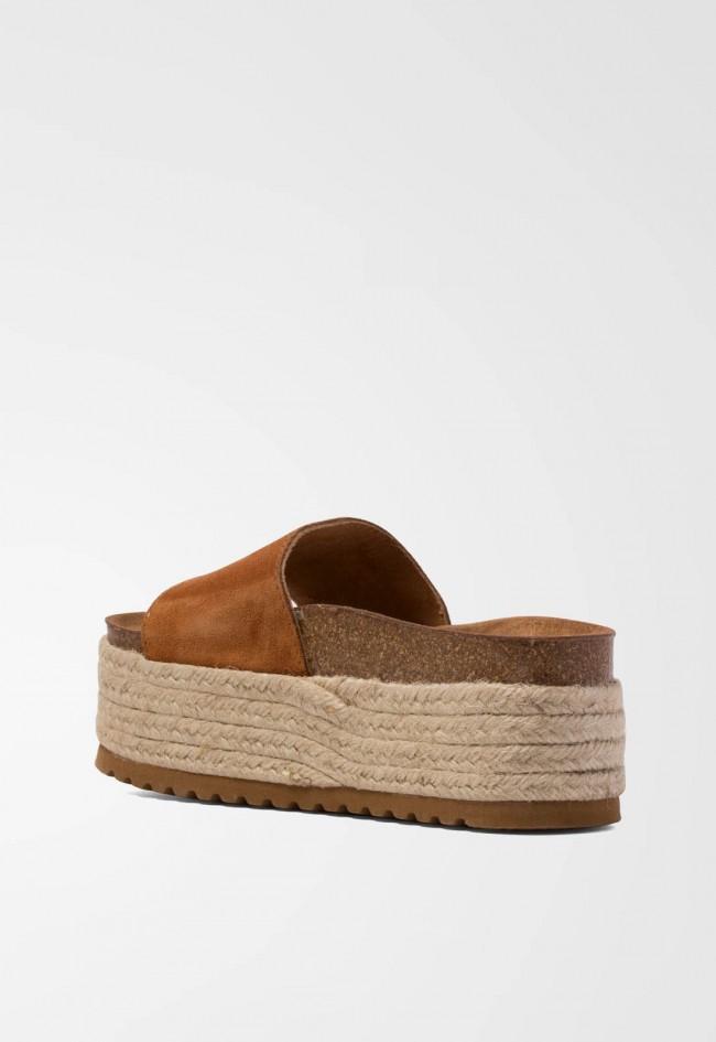 Sandalia de Mujer Cuero Pret A Porter 492