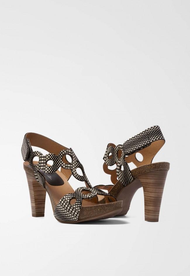 Sandalia de Mujer Negro La Strada 706978