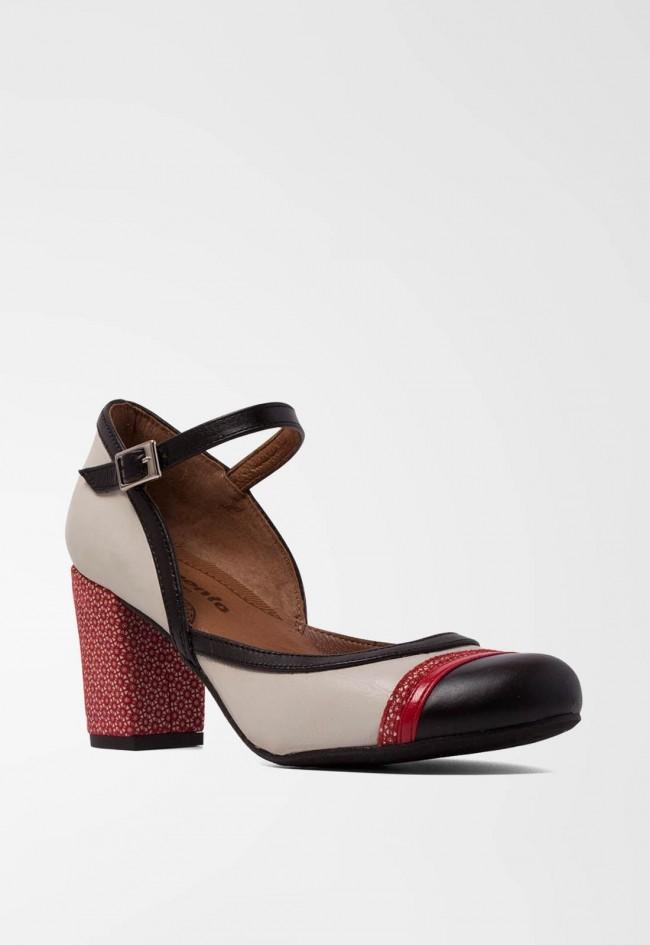 Zapato de Mujer Negro Vas 14823