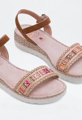 Zapatillas de Mujer Agua Natural World 102