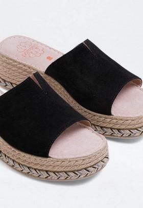 Zapatillas de Mujer Morado Natural World 102E