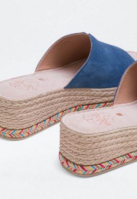 Zapatillas de Mujer Gris Natural World 102E