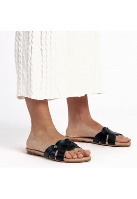 Zapato de Mujer Negro Vas 742