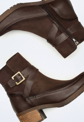 Zapato de Mujer Taupe Vas 1022